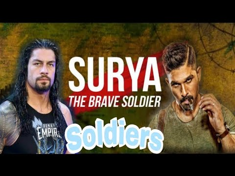 "ROMAN REIGNS ""THE SOLDIER"". Ft.Allu Arjun 