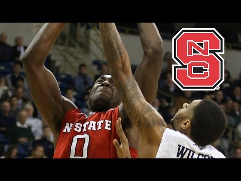 NC State Basketball: Abdul-Malik Abu 3 Stylish Dunks Vs. Pitt