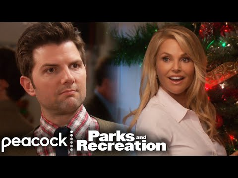 Ben Meets Jerry's Hot Wife - Parks and Recreation