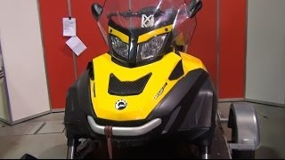 8. BRP Ski-Doo Skandic WT ROTAX 600 ACE REV-XU Exterior and Interior in 3D 4K UHD