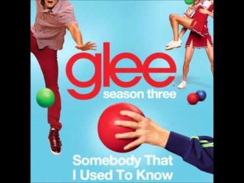 Tekst piosenki Glee Cast - Somebody That I Used To Know po polsku