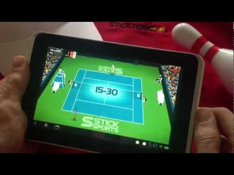 Video of Stick Tennis