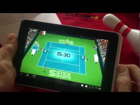 Video of Stick Tennis