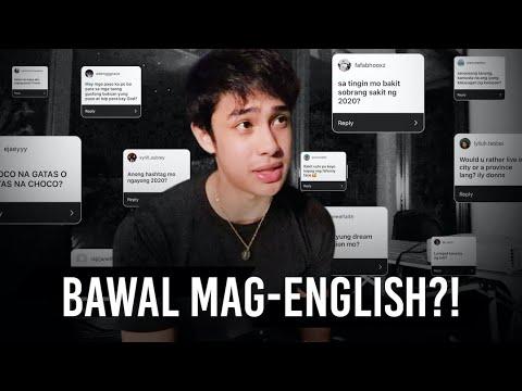 Tagalog Q&A! | Donny Pangilinan