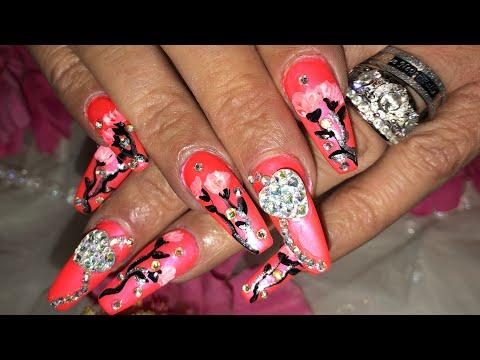 Nail designs - 100th Nail Design...Teenie Bop