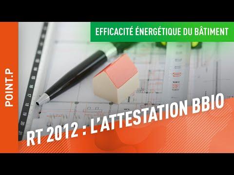 comment remplir l'attestation de prise en compte de la rt 2012
