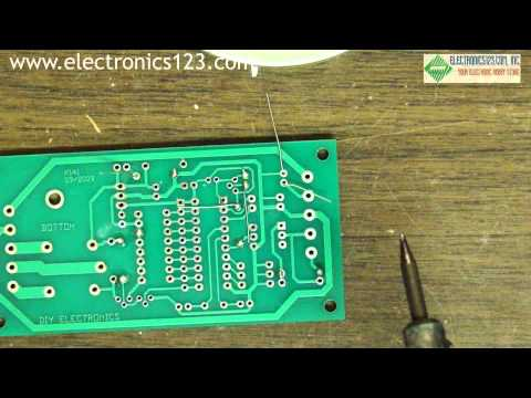 How to solder - Beginner soldering tutorial. Learn how to solder electronic kits!