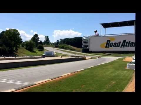 SCCA testing at Road Atlanta 2014