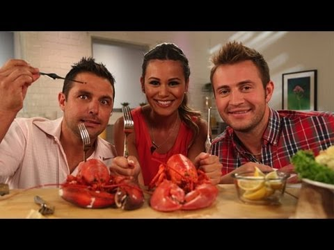 How to Cook and Eat Live Lobster | Kitchen Skills | Conquer Your Fear