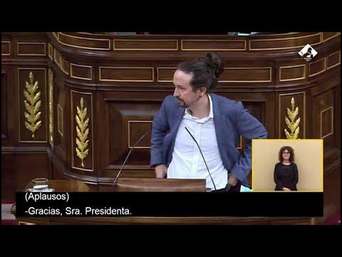 "Iglesias, a Casado: ""Discurso brillante"" que ""llega tarde"""