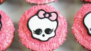 MONSTER HIGH CUPCAKES - NERDY NUMMIES - YouTube