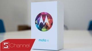 Schannel - Mở hộp Moto X : Liệu có phải là một sự thay đổi - CellphoneS