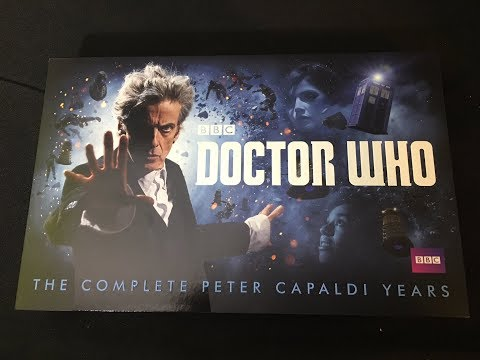 Doctor Who The Peter Capaldi Years Complete Blu-ray Set Unboxing