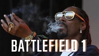 "Snoop Dogg playing Battlefield 1 in ""Battlefield Squads"" at EA Play 2016"