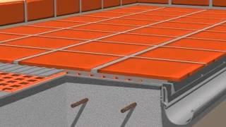 Impermeabilización terraza con sistema DTR lámina Schluter Ditra
