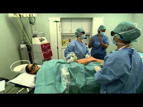 spataderen behandelen met endolaser bij polikliniek de blaak.wmv