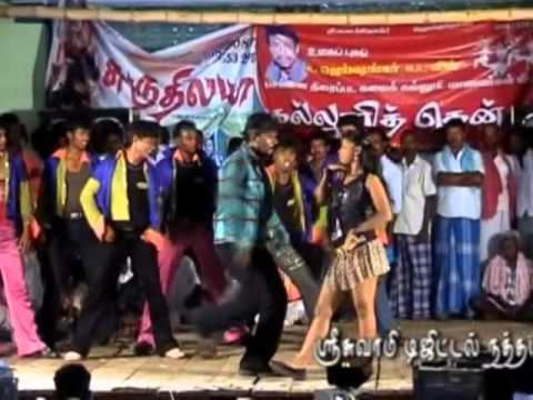 tamil stage dance -