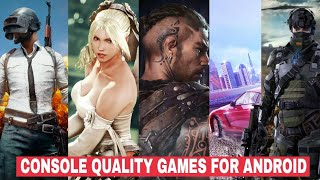 Video TOP 5 CONSOLE QUALITY GAMES FOR ANDROID | 2018 | MP3, 3GP, MP4, WEBM, AVI, FLV Agustus 2018