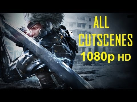 Metal Gear Rising Revengeance - All Cutscenes 1080p movie HD Every cutscene in order Metal Gear Rising Revengeance