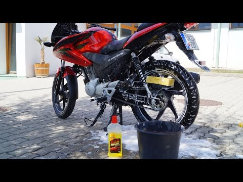 Honda CBF 125 Bike Wash