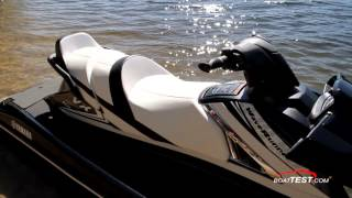 8. Yamaha VX Cruiser HO Test 2016- By BoatTest.com