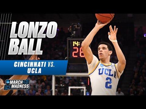 Cincinnati vs. UCLA: Lonzo Ball drops 18 for Bruins (видео)
