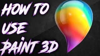 Video How to use Paint 3D 2017 MP3, 3GP, MP4, WEBM, AVI, FLV Februari 2019