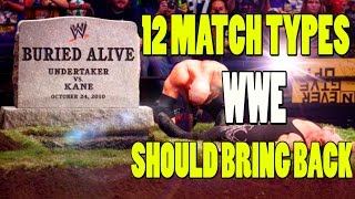 Nonton 12 Match Types that WWE Should Bring Back Atleast Once Film Subtitle Indonesia Streaming Movie Download