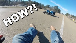 9. Guy CRASHES His NEW GSXR 750! What Went Wrong??