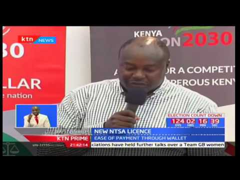 NTSA introduces new smart electronic licence for drivers to help curb traffic offences (видео)