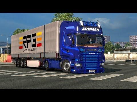 Argman Scania Streamline ZDENY