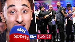 AnEsonGib sends message to Jake Paul after their heated clash during KSI & Logan Paul's presser