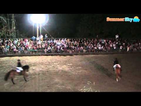 Crateri In Festa 2011 - Saggio degli allievi del Centro Ippico Aragona Arabians