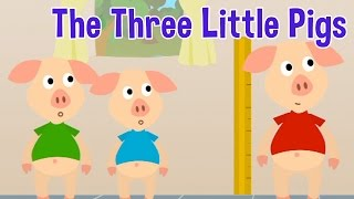 Video The Three Little Pigs - Animated Fairy Tales for Children MP3, 3GP, MP4, WEBM, AVI, FLV Juli 2019