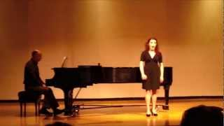 Rossini's Aragonese sung by Alex Losee.