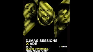 Richy Ahmed, wAFF, Claude VonStroke - Live @ Amsterdam Dance Event 2016