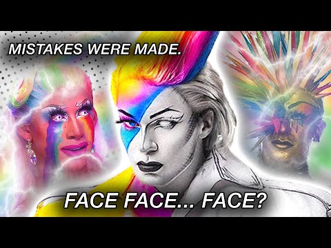 Drag Race Holland Episode 2 Review (FACE FACE FACE!) 👹 | Hot or Rot?