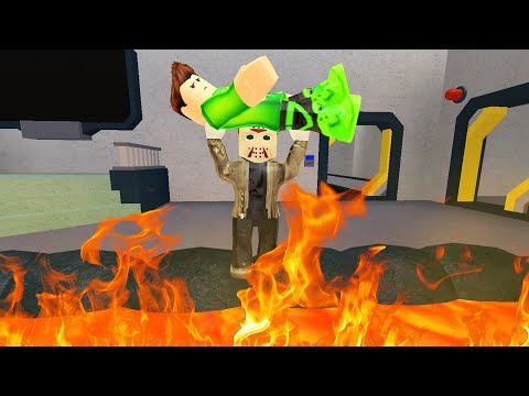 The BEAST Threw Me INTO LAVA! (Roblox Flee The Facility)