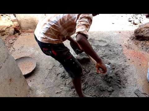 How to mix cement and sand for plastering wall | cement mixing | DIY