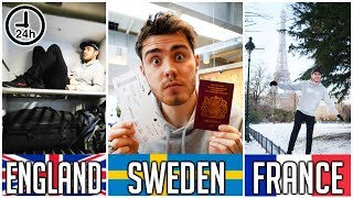 Video 3 COUNTRIES IN 24 HOURS [NO PLANNING] MP3, 3GP, MP4, WEBM, AVI, FLV Oktober 2018