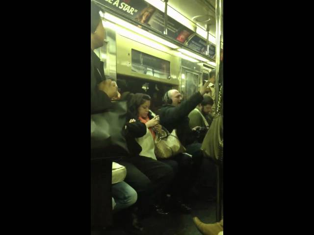 Drunk Guy Belts Out Bohemian Rhapsody on Train