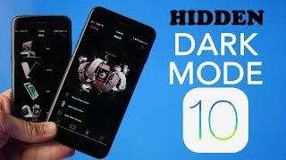 Hidden iOS 10 Dark Mode!