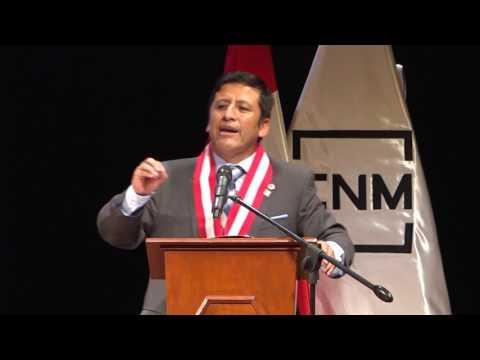 Discurso en ceremonia de juramentaciópn como Presidente del CNM 2017-2018
