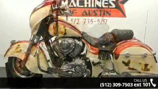9. 2014 Indian Chieftain  - Dream Machines Indian Motorcycle...