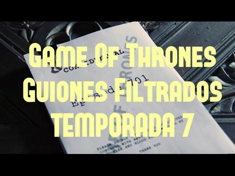 GUIONES FILTRADOS DE GAME OF THRONES TEMP. 7  OPINION  RUMORES