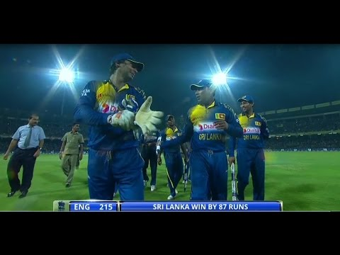 Upul Chandana brilliant run out & Sanath Jayasuriya one handed catch
