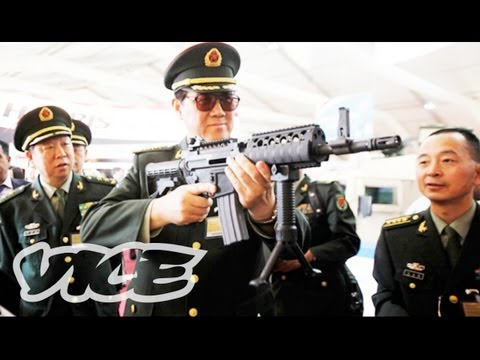 vice magazine - SOFEX is where the world's leading generals come to buy everything from handguns to laser-guided missile systems. It stands for