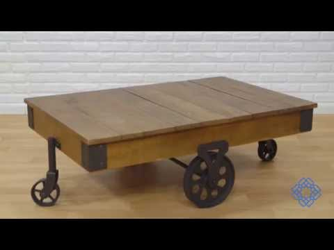 Video for Rustic Cocktail Table
