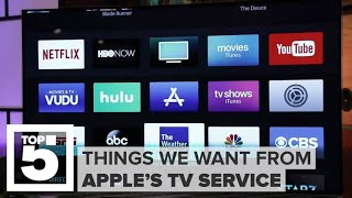 Apple's TV service: What we want to see | CNET Top 5