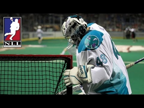 Rochesters Matt Vinc makes the game winning save for the Knighthawks!_Lacrosse vide�k. Heti legjobbak